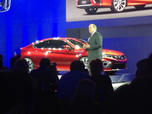 2013 Honda Accord Coupe Concept - Live from the 2012 Detroit Auto Show -  Jan 10, 9 36 48 AM Photo