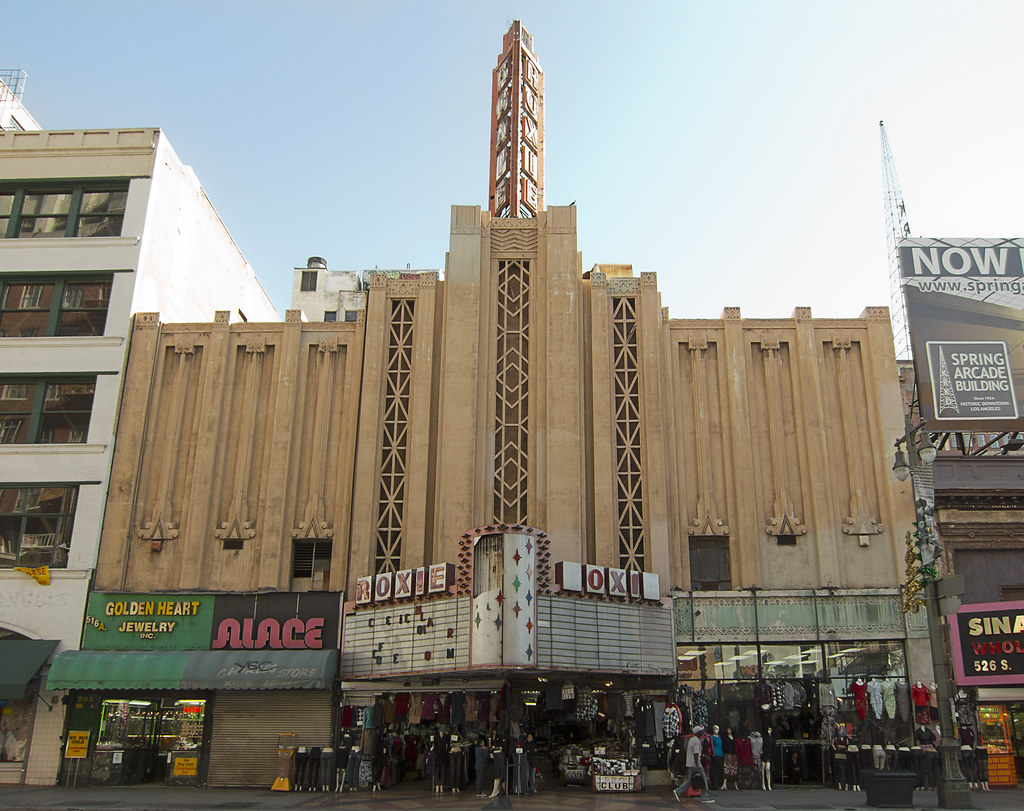 Roxie Theatre Historic Core Los Angeles