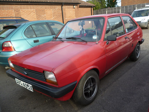 1981 Ford Fiesta 1.1 Base (LHD) | by Spottedlaurel
