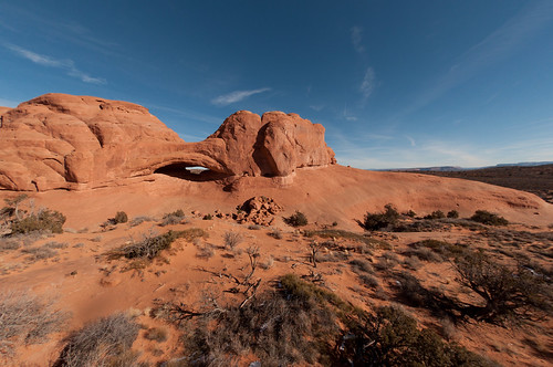 Eye-of-the-Whale Arch, Arches National Park, Utah