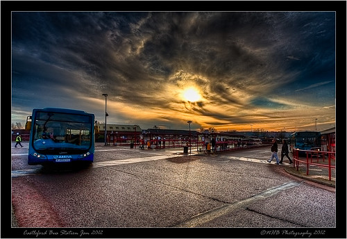 "uk winter england sky people sun bus nature buses station clouds photoshop yorkshire hdr arriva hivis wow1 wow2 castleford photomatix greatphotographers efs1022mmf3545usm canon40d ""flickraward5"" ringexcellence dblringexcellence tplringexcellence nhbphotography eltringexcellence topazbw bbng"