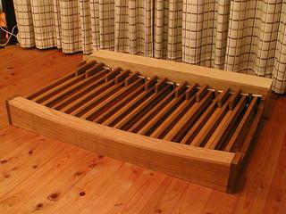 self build midi organ pedal board   made of oak and pine