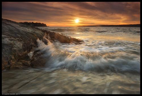 ocean sunset beach ma rocks massachusetts nikond50 gloucester justinsmith nilesbeach nikon1735mmf28 justinsmithphotocom