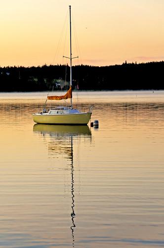 canada sunrise island boat nikon novascotia free calm clear capebreton dennis jarvis d300 brasdor iamcanadian 18200vr freepicture 70300mmvr dennisjarvis archer10 dennisgjarvis