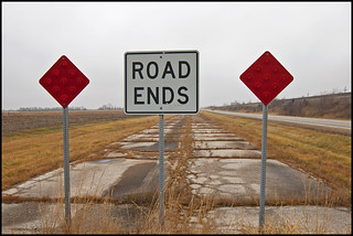 End of the Road | by Tom Gill.