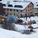 Nová Hoľa: apré-ski hneď pri stanici sedačky a kabínky, foto: Rudolf Mozoláni