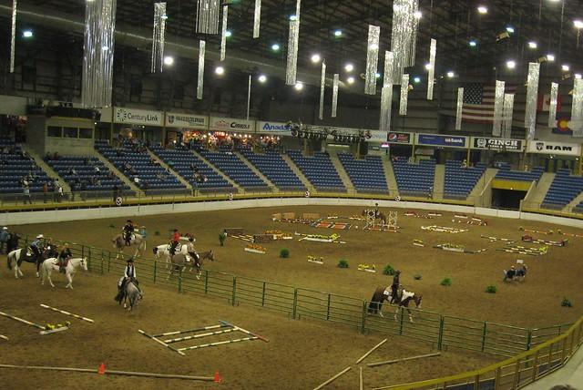 Paint Horse Trail Class -Events Center