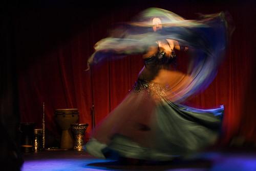 Belly Dance Swirl of Veils