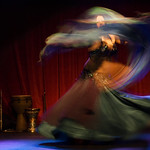 Belly Dance Swirl of Veils