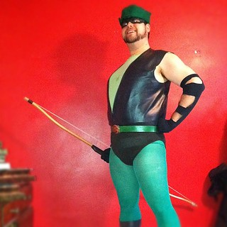I got frustrated, so I made a Green Arrow costume. Like you do. | by Jared Axelrod