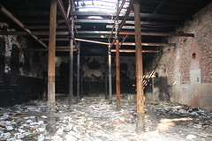 Derelict meat packing plant , Nysa 27.01.2012
