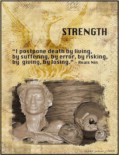 Strength | by sbpoet
