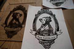 Ada Lovelace (Intaglio)