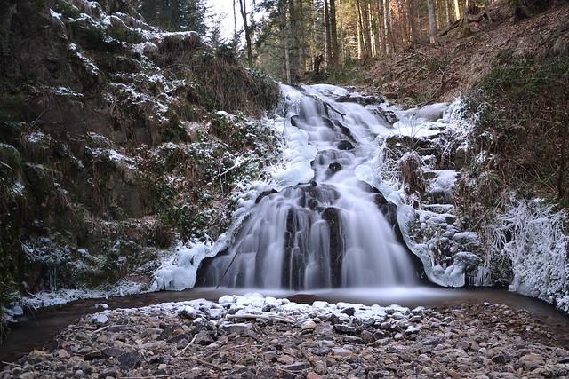 cascade de Faymont hiver 1