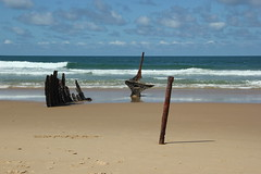 Wreck of SS Dicky