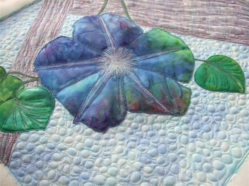 First Morning Glory Bloom Quilt | by Marcia's Crafty Sewing & Quilting