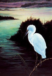 Egret by David Derr | by David_Derr