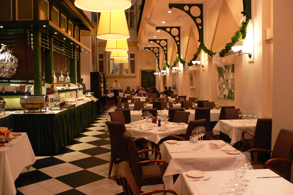 Restaurant At Elite Plaza Hotel Gothenburg Sweden Flickr