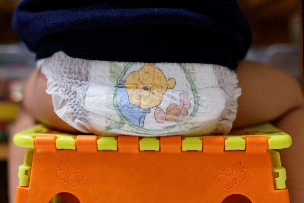 Winnie the pooh diaper