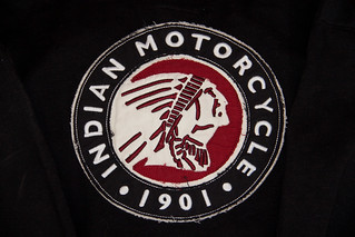Indian Motorcycle Logo Hoodie (back) | by greggburch