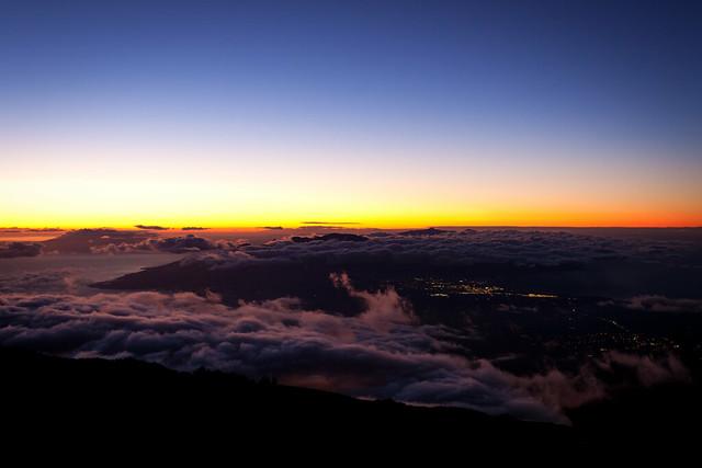 Haleakela Sunset 5820
