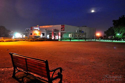 park moon cinema bench twilight rawalpindi jinnahpark khanpride cinepax