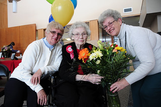 Margaret is retired teacher who turned 100 on Jan. 14, 2012.  Congratulations Margaret!