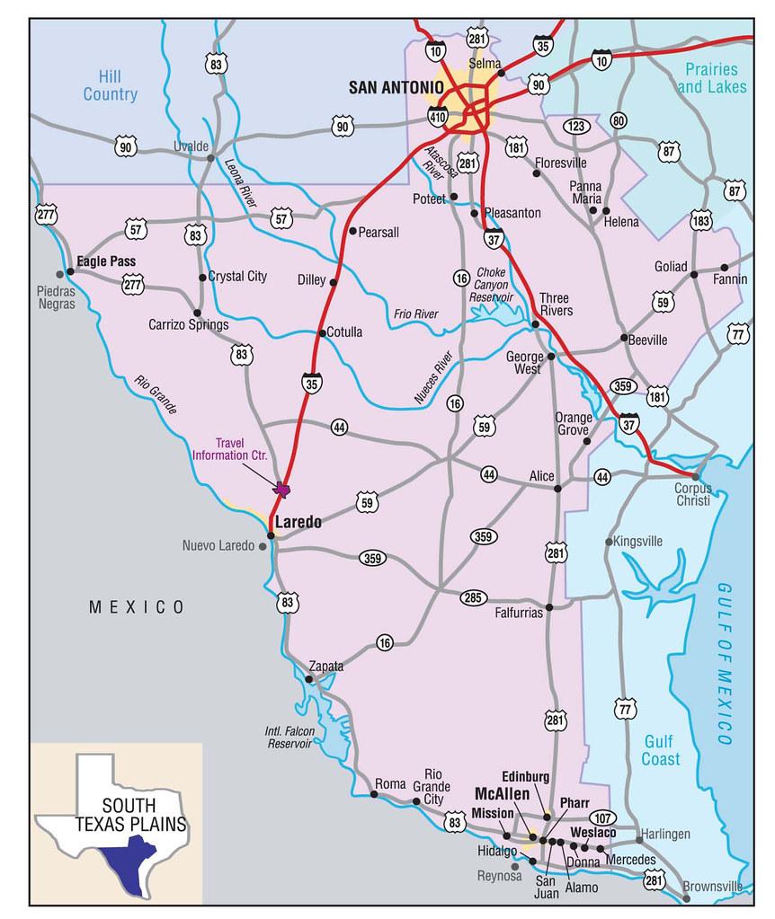 South Texas Plains Map Digitaljp Flickr