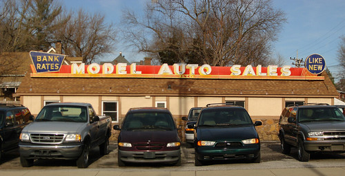 sign illinois neon belleville dealership modelautosales
