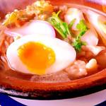 鍋焼きうどん at #利休_(十和田市) http://t.co/sGLyRg07