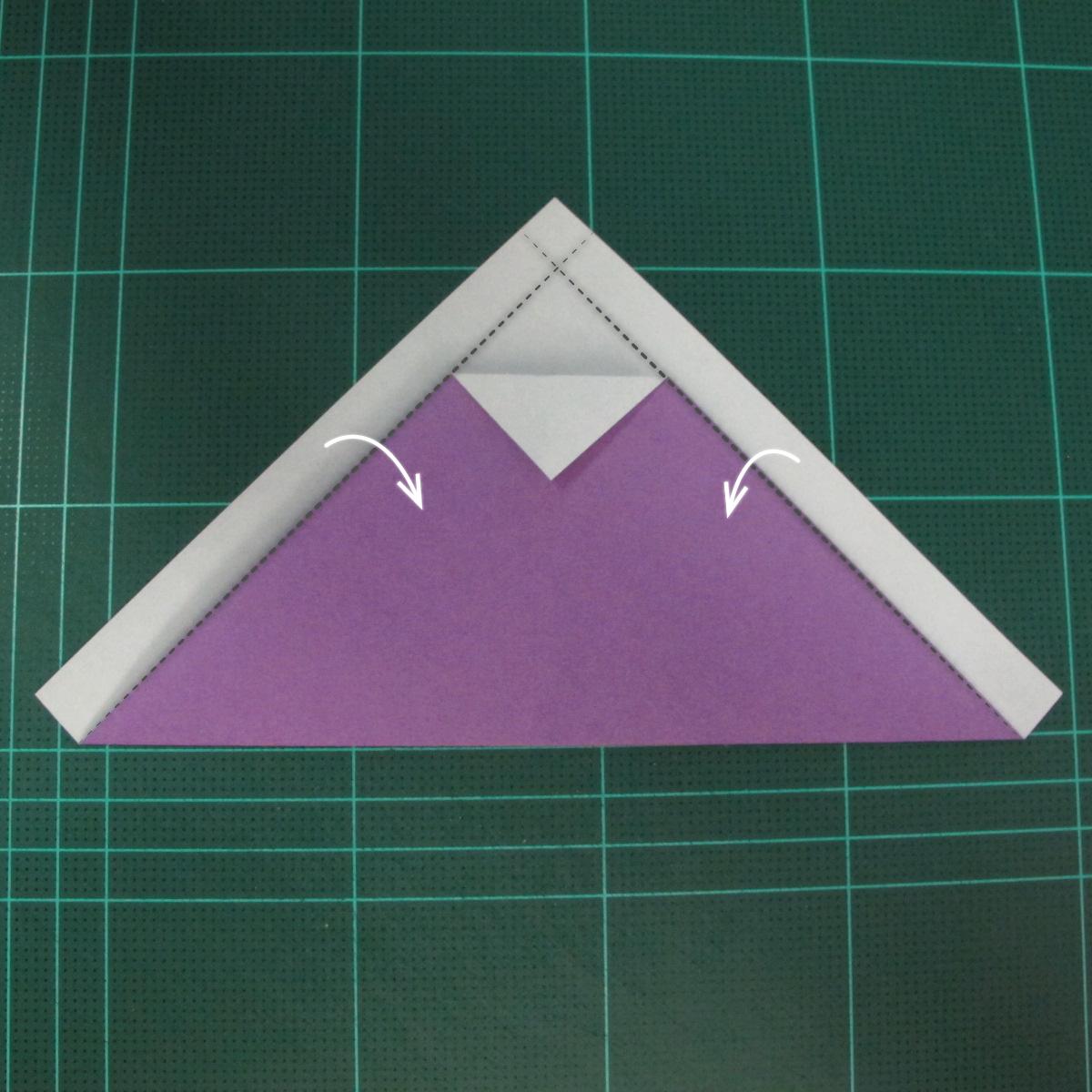 การพับกระดาษเป็นรูปแม่ชี (Origami Nun) 003