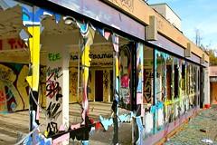 I colori del vandalismo.