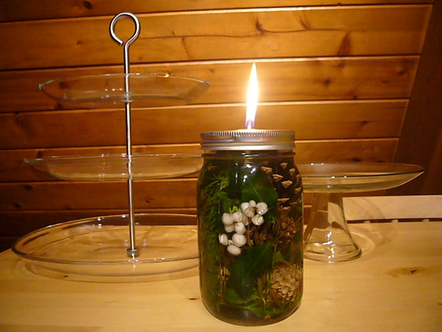 DIY Mason Jar Oil Lamp