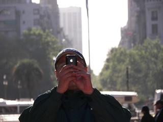 El autor en Buenos Aires