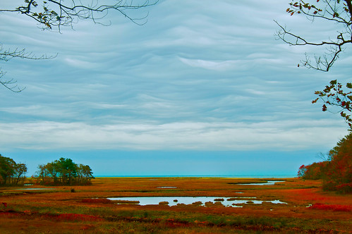 ocean autumn sea sky storm fall beach nature colors strange weather clouds landscape coast seaside day salt maine stormy wells atlantic estuary fields marsh unusual rachelcarson wildlifepreserve