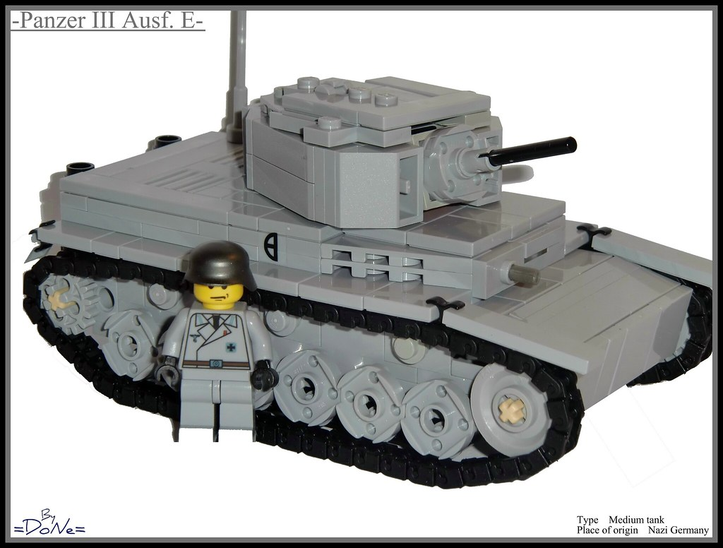 65e80ae1a467b Lego ww2 -Panzer III Ausf. E-   So as you maybe reconize thi…   Flickr