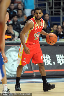 December 14th, 2011 - Patty Mills in a game against the Shanghai Sharks | by ballclub