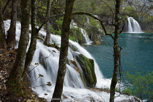 Milanovački Slapovi waterfalls, Plitvice Lakes National Park | by Branimir Gjetvaj