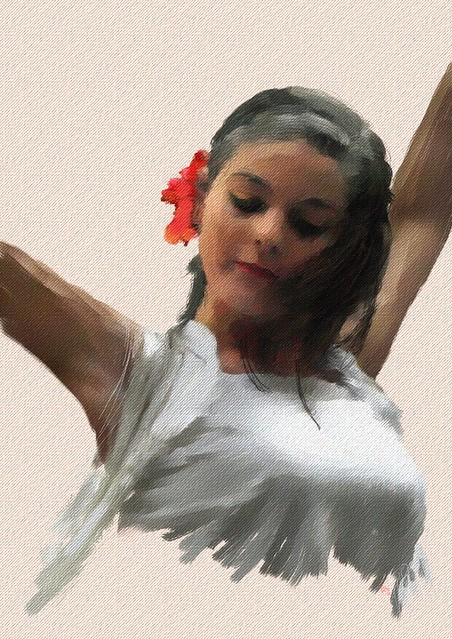 Portrait of Flamenco