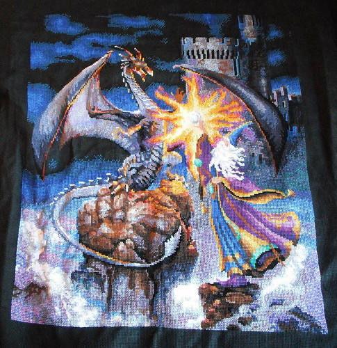 Wizard Cross-stitch | by jenniferworthen