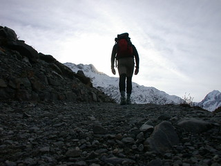 Hiking, Aoraki / Mt Cook | by True New Zealand Adventures