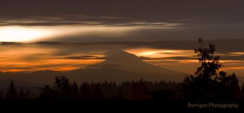 county trees storm nature silhouette vancouver clouds oregon sunrise outdoors washington mt scenic clark wsu hood flickraward