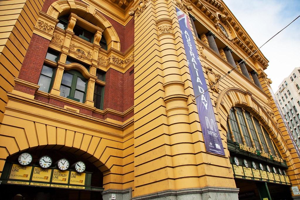 Flinders Street by Trent Nicholson