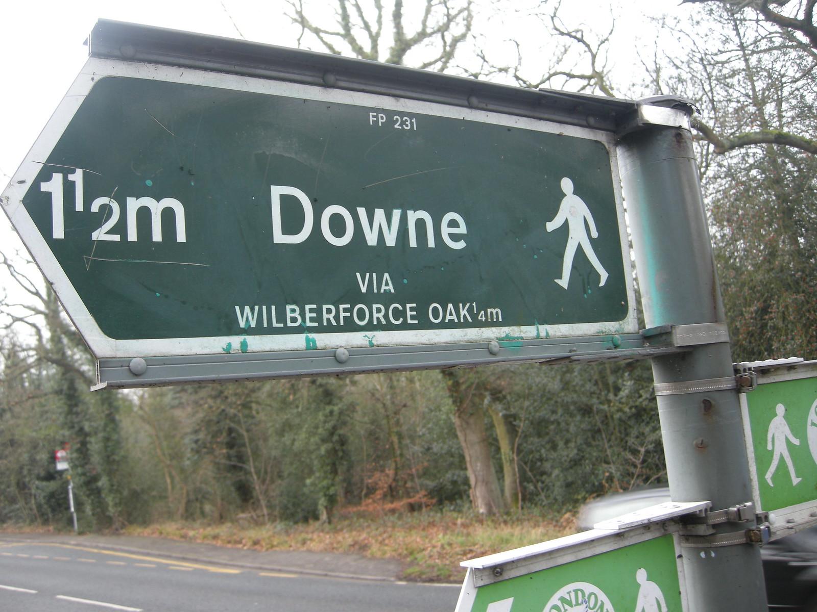 Downe post