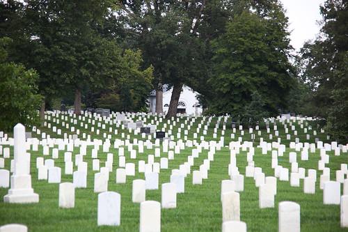 NE across Section 13 - Old Admin House - Arlington National Cemetery - 2011 | by Tim Evanson