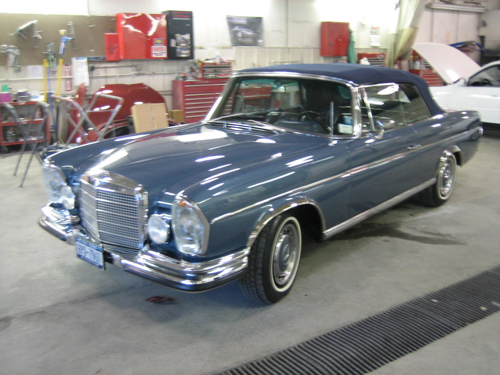 Classic Mercedes fully restored