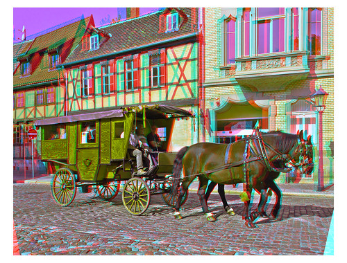 Stagecoach ::: Anaglyph HDR 3D | by Stereotron