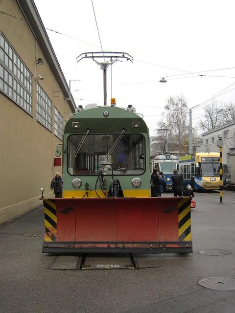 Tram Museum Zürich Jahresschlussfahrt 2011