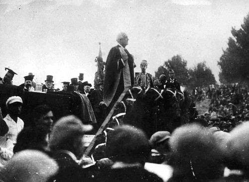 Lord Balfour - opening ceremony 1925