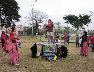 Street theatre in Interlagos, São Paulo 6